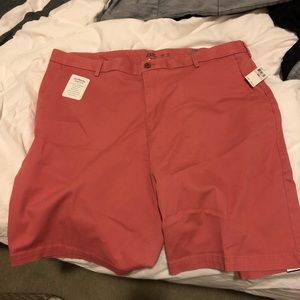 Izod Saltwater relaxed classics shorts salmon/red
